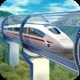 icon Hyperloop: futuristic train simulator