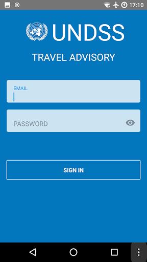 Electronic Travel Advisory