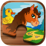 icon Animal Puzzle Kids + Toddlers