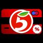icon com.CosmicGamesFactory.FiveDiscontCard