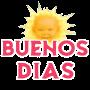 icon Pegatinas de Buenos Dias ,Tardes, Noches