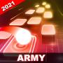 icon ARMY HOP: BTS Tiles Hop Dancing Balls Game 2021!