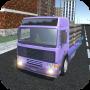 icon Truck Drive Cargo Truck Sim 3D