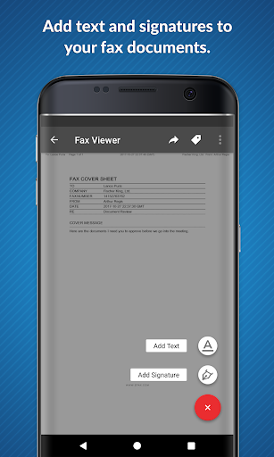 eFax – Send Fax From Phone