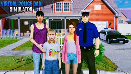 Virtual Police Dad simulator: mom and dad games