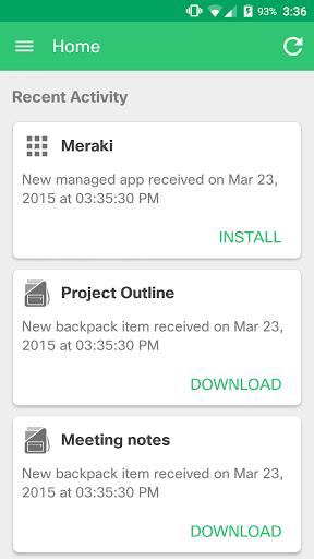 Meraki Systems Manager