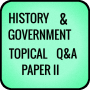 icon HISTORY AND GOVERNMENT TOPICAL QUESTIONS