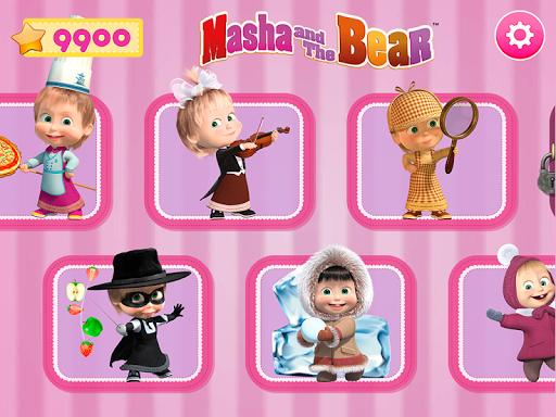 Masha and the Bear. Games & Activities