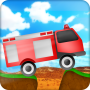 icon fire truck climbing game