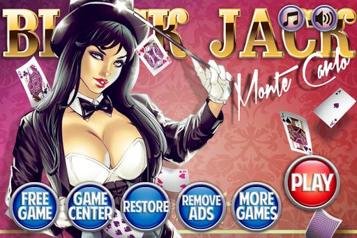 Blackjack 21 - Monte Carlo