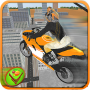 icon Tricky Stunt Rider - Wheelie City Flying Racing 3D
