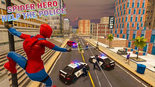 Spider Rope Hero Vice Town - Superhero Games
