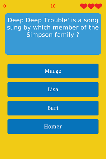 Trivia for The Simpsons