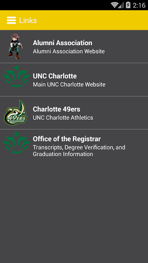 UNC Charlotte Alumni Perks