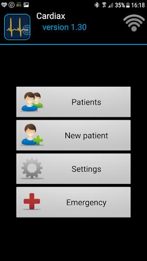 Cardiax Mobile ECG