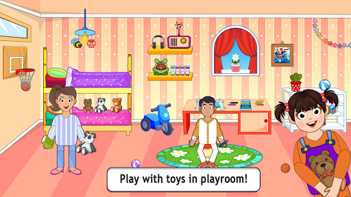 Pretend Play City Life: House Story Games