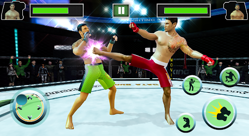 Real Mixed Martial Art And Boxing Fighting Game