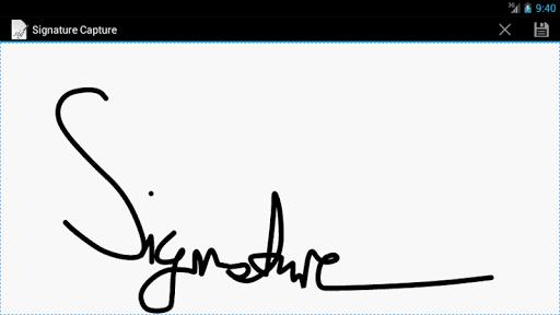 Signature Capture