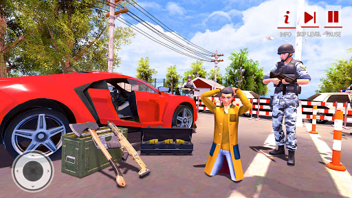 Border Patrol Police Force Simulator- Cop Games