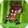 icon Ninja Girl Run Adventure