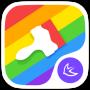 icon Colorful rainbow theme