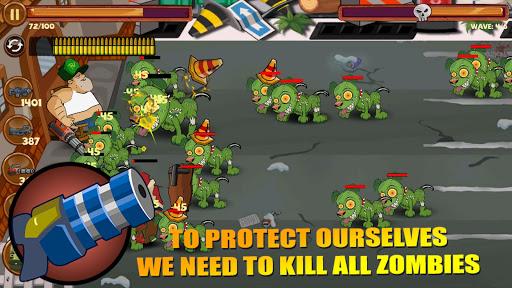 Fat Man Vs Zombies - Defence Battle PVZ4