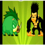 icon Monkey And Pig
