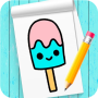 icon How to draw kawaii step by step