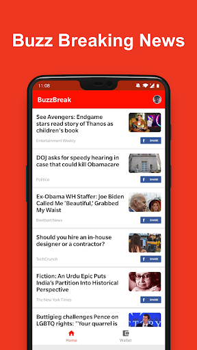 BuzzBreak News - Buzz News & Earn Free Cash!