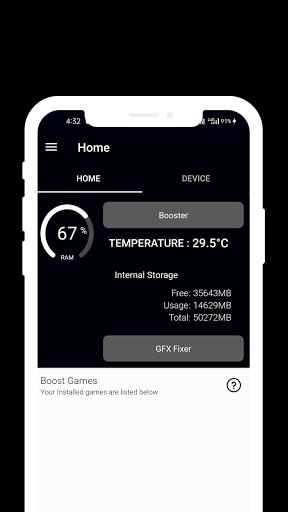 VIP Game Booster - Free Fire GFX & LAG Fix