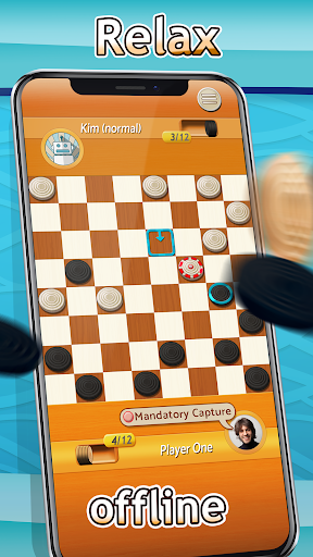 Checkers Free Board Game