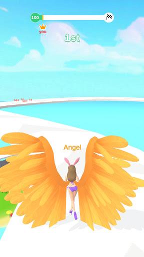 Angel Running