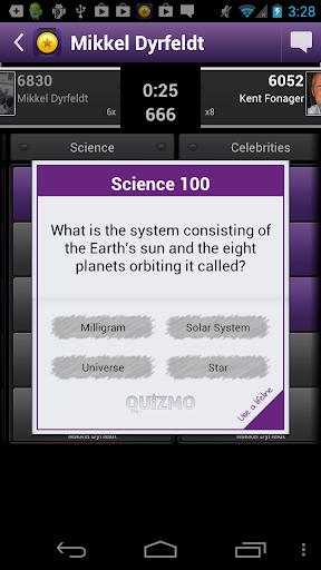 Quizmo - free trivia quiz game