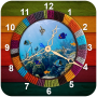 icon Clock Aquarium Live Wallpaper