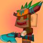 icon Cube Warrior