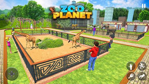 Modern Family Planet Zoo - Animal Park 3D Game