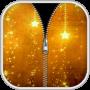 icon Gold Zipper Screen Lock