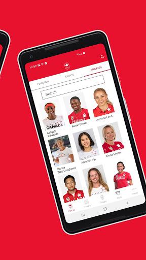 Team Canada Olympic App