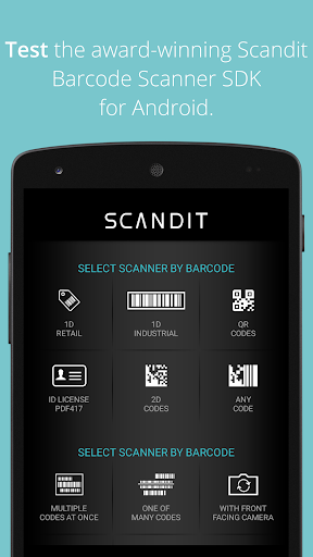 Scandit Barcode Scanner Demo