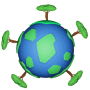 icon EarthSaver : Plant Trees And Color The Earth!