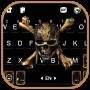 icon Pirate Skull Keyboard Background