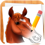 icon How to Draw Horses