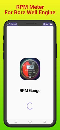 RPM Gauge - Digital Mobile Engine TachoMeter