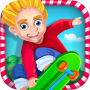 icon Crazy Skater Kids Speed Race