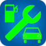 icon Fuel consumption, maintenance