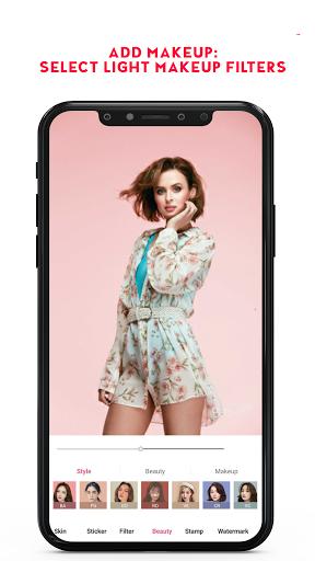 Selfie Camera, Beauty Camera, Photo Editor: Beecam