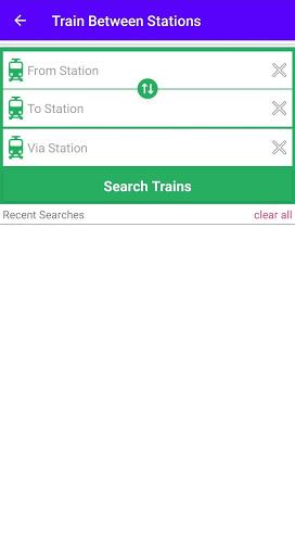 Live Train Running Status