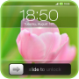 icon Slide to Unlock - Flower Theme