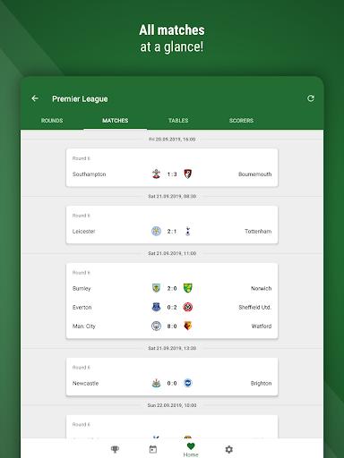 Football Live Scores GoalAlert Fixtures & Results