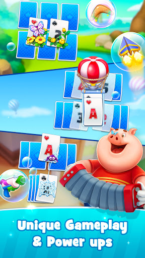 Solitaire TriPeaks HappyLand - Free Card Game